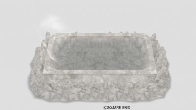 水晶のバスタブ