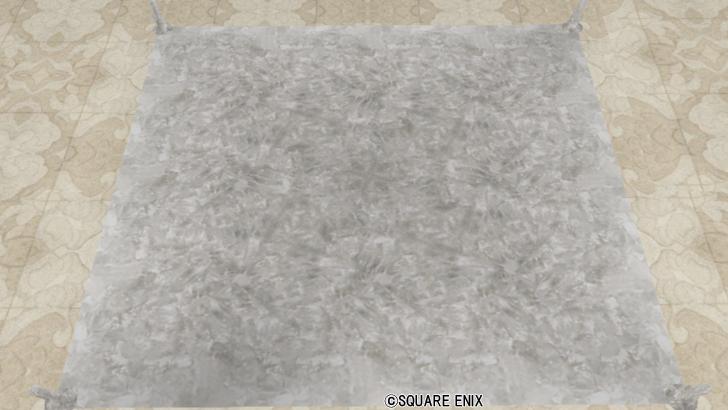 水晶のカーペット