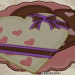 チョコレートのラグ