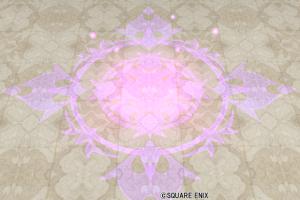 大きな魔法陣ラグ・紫