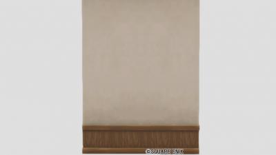 白木の大きい壁