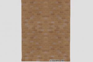 レンガの大きい壁