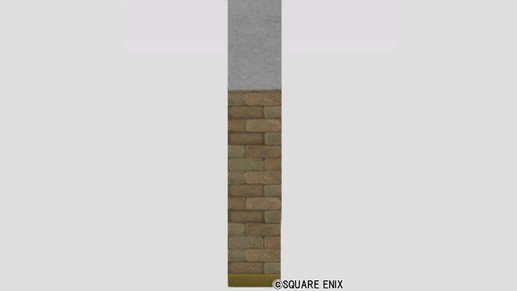 しっくいとレンガの壁