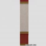 紅白レンガの壁