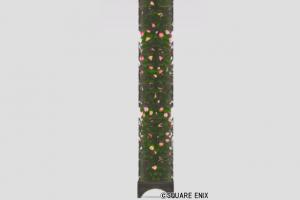 花透かし細工の壁