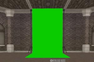 緑色の背景スクリーン