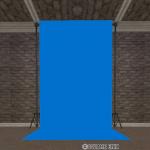 青色の背景スクリーン