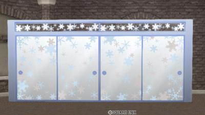 雪の結晶ふすま