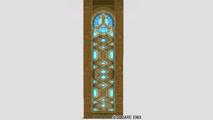 神殿のステンドグラス
