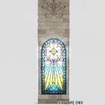 祝福のステンドグラス