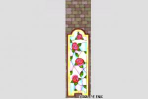 バラのステンドグラス