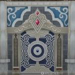 魔塔の赤宝石付き壁