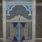 魔塔の青宝石付き壁