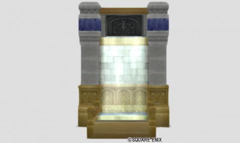王家の迷宮の滝