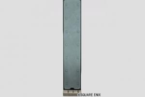 立派な鉄製の壁
