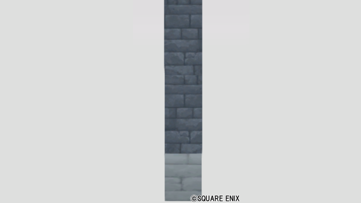 あおレンガの壁