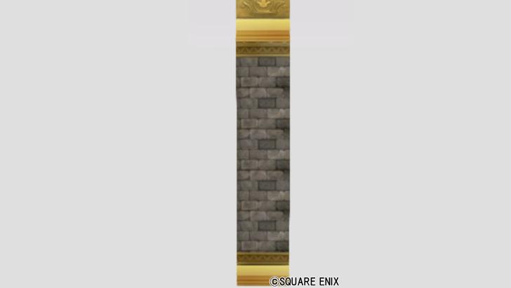紋入りのレンガ壁
