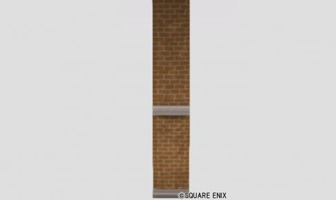 レンガ柄の壁