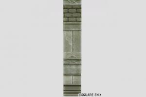 石彫細工の壁