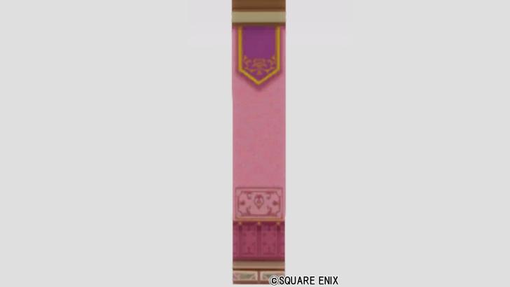 ピンクダマスクの壁