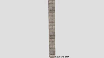 積み石の柱