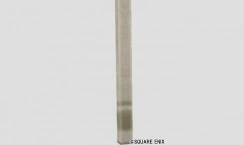 模様入りしっくい柱