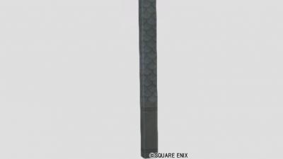うろこ模様の柱