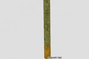 色分け石の柱
