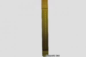 くさび模様の柱