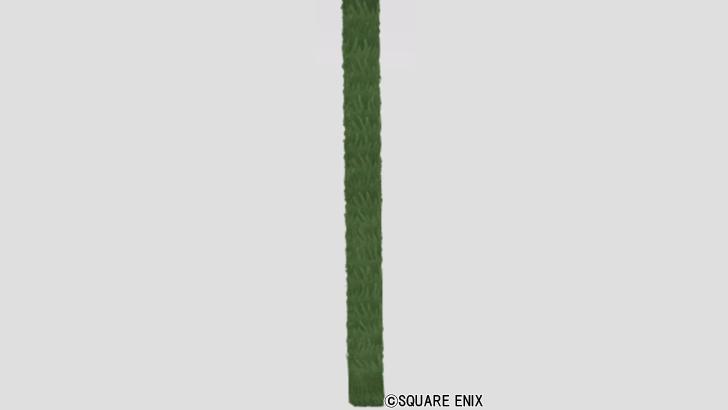 ジャングル風の柱