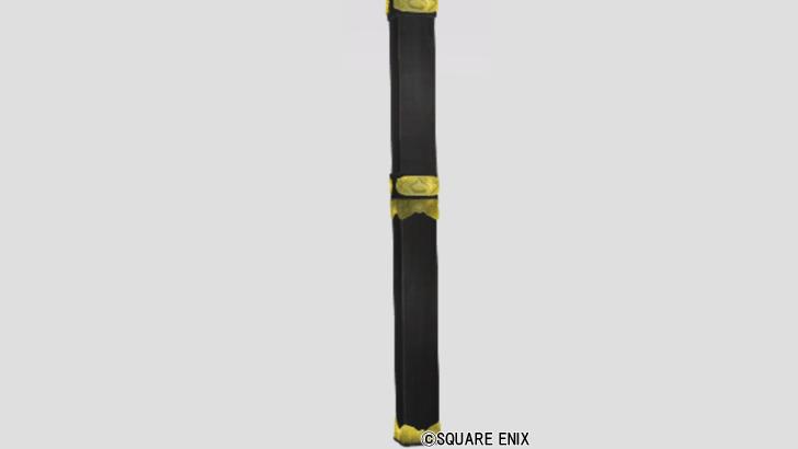 飾り金具の柱