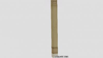 お城の木の柱