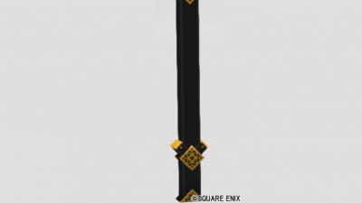 金飾りの柱