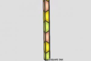 モザイクガラスの柱