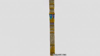 壁画と金レリーフの柱