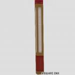 紅白レンガの柱