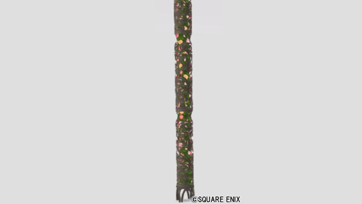 花透かし細工の柱