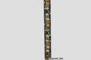 四葉透かし細工の柱