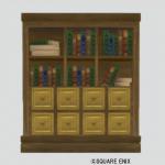 壁かけ引き出し付き本棚