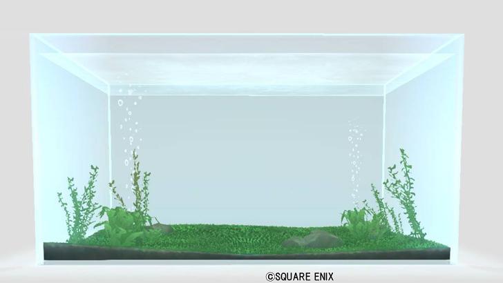 大型の四角い水そう