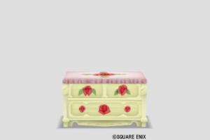 赤バラのチェスト
