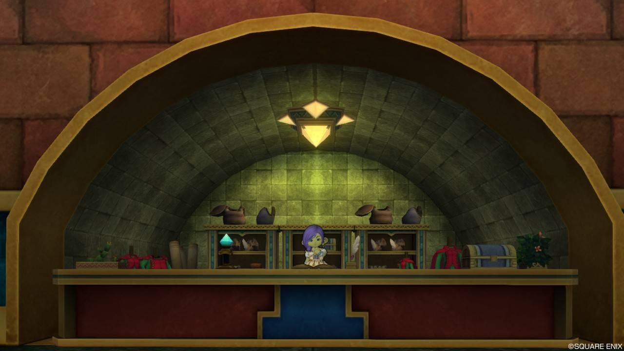【ドラクエ10】クエスト542「シックに着こなして」ウルベア地下帝国 上層 仕立て屋サテテ