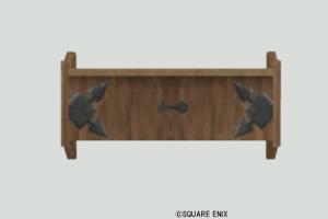 壁かけ木のラック