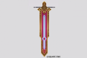 壁かけ紋章旗・剣