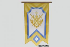壁かけ紋章旗・黄