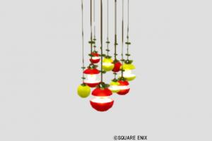 森のこびとの吊りランプ