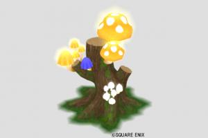 森のこびとのランプ