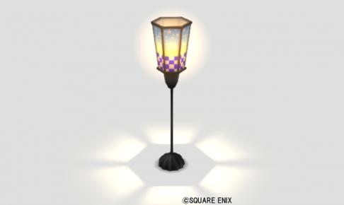 桜の床置き提灯
