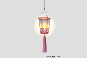 桜の吊るし提灯