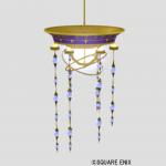 ドミネウス邸の吊り照明